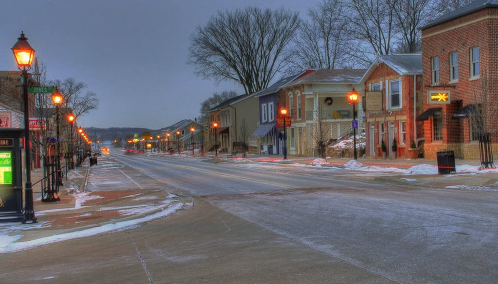 LeClaire historic downtown